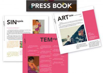 Press book d'artiste