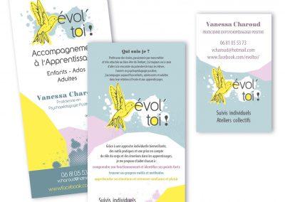 Flyer promotionnel - Carte de visite